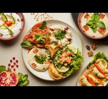 Assiette variée végétarienne